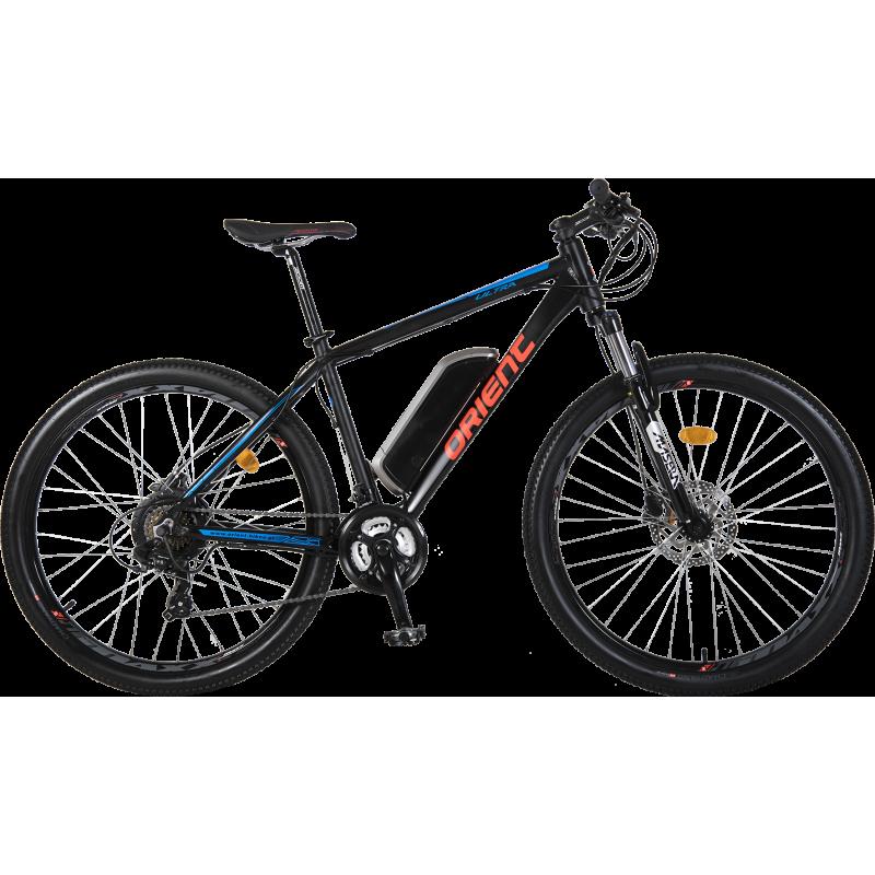 """Orient ULTRA E-Bike hydr.disk 27,5"""" 21sp. (rear motor) ΜΑΥΡΟ 2019"""