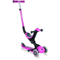 Globber Scooter Go-Up Deluxe Deep Pink (644-110)