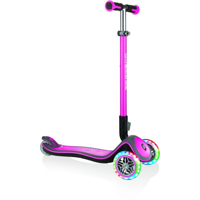 Globber Scooter Elite Deluxe-Deep Pink (444-410)