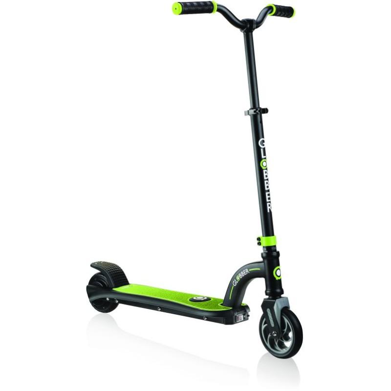 Globber Scooter One K E-Motion 10-Lime Green/Black (650-106)
