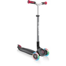 Globber Scooter Elite Master Lights Black-Red (662-120)