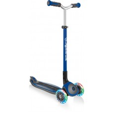 Globber Scooter Elite Master Lights Navy Blue (662-100)